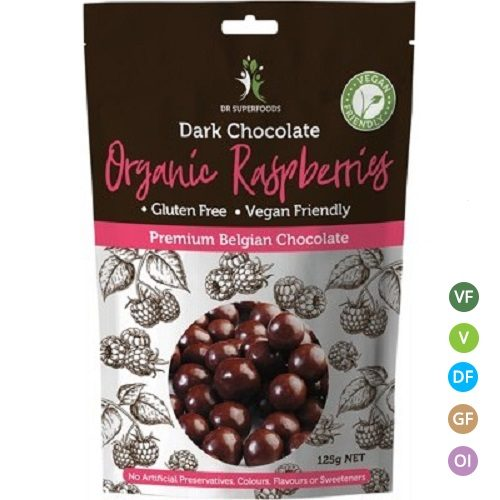 Dark Chocolate Raspberries