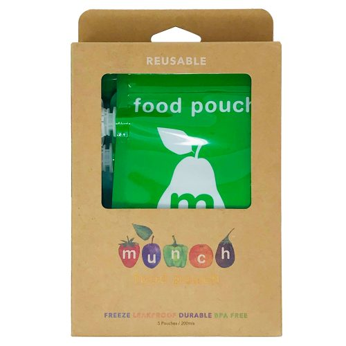 Reusable Food Pouches